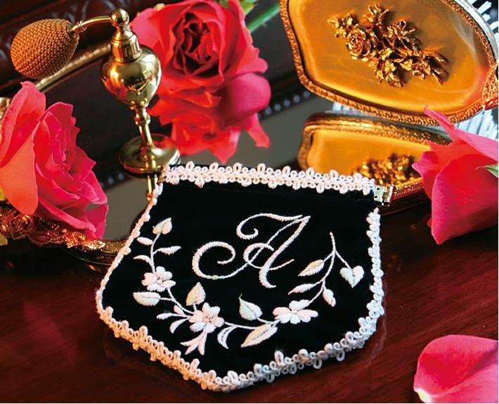 刺繍ミシン作品例