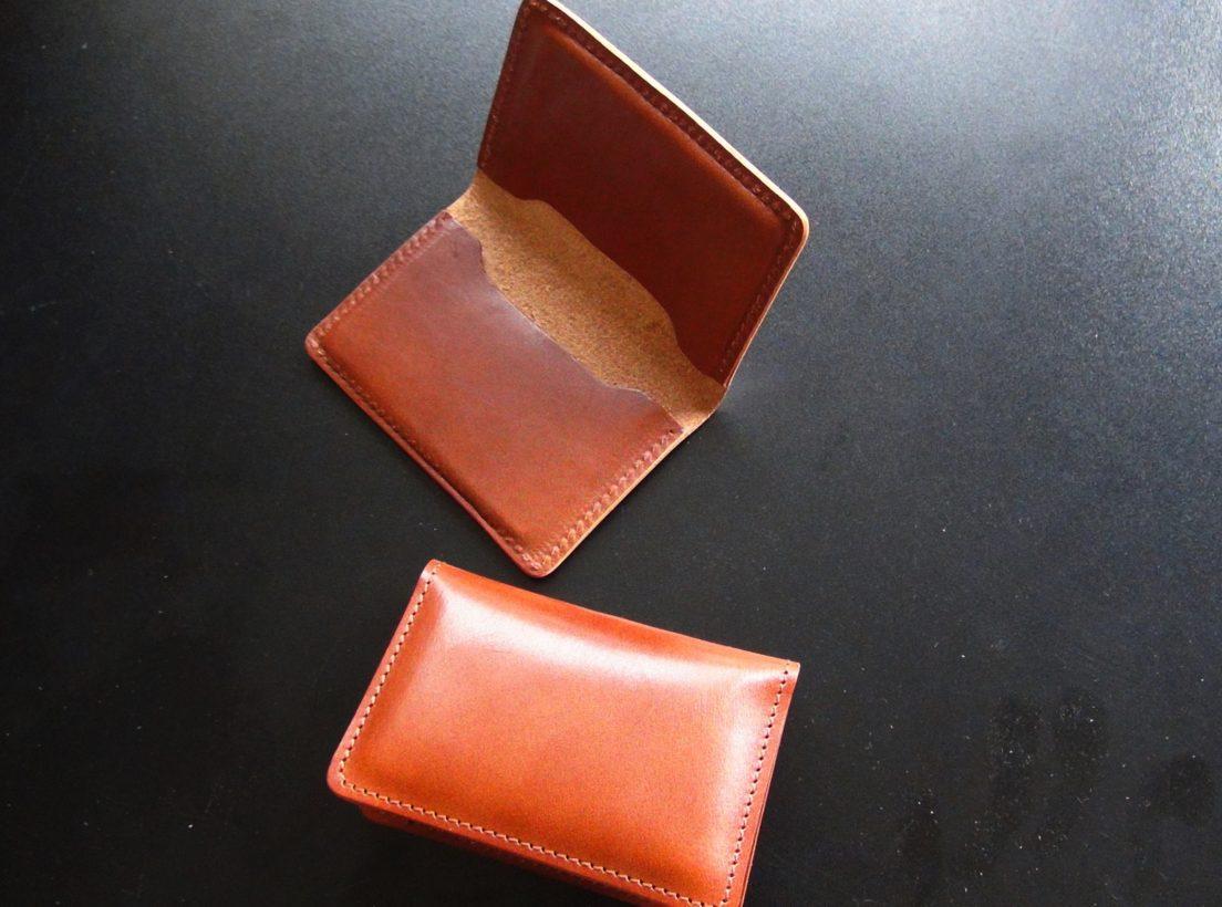 Leather Workshop 皮革勉強会&名刺入れ製作体験